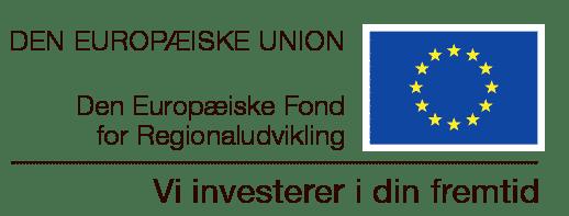 Den Europæiske Fond for Regionaludvikling logo