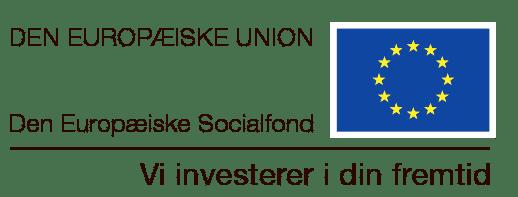 Den Europæiske Socialfond logo